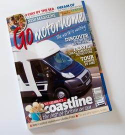 Go Motorhome magazine